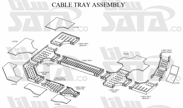 CABLE TRAY ASSEMBLY