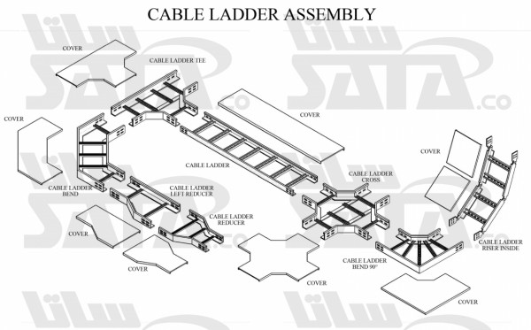CABLE LADDER ASSEMBLY