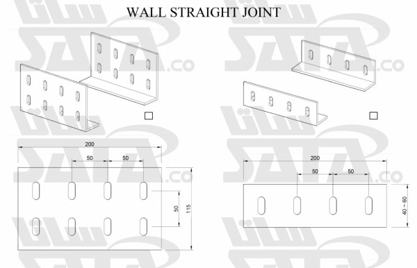 WALL STRAIGHT JOINT