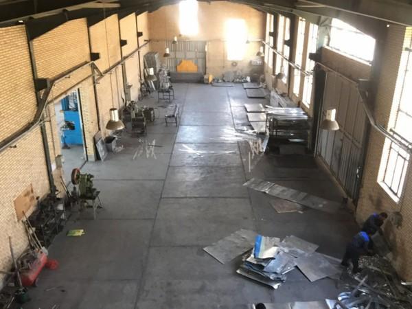 نمایی از کارخانه سازه توان آژند-تولید کننده سینی کابل، نردبان کابل، سی ریل و سی چنل